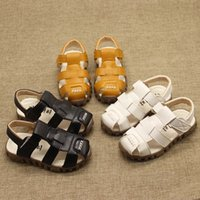 Wholesale Ladies Autumn Shoes - Fast shipping GUUCCII KIDS shoes 2017 spring and summer new lady small bee Slipper not Real