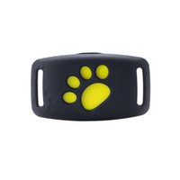 Wholesale dog tracking collars resale online - Hot sell Z8 Pet GPS Tracking Dog Cat Collar GPS Locator Callback Function USB Charging GPS Trackers