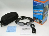 сотовый телефон bluetooth солнцезащитные очки оптовых-Смарт-очки Bluetooth наушники солнцезащитные очки Солнцезащитные очки Очки Спорт на открытом воздухе гарнитура MP3-плеер сотовый телефон беспроводные наушники