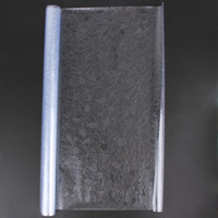 ingrosso pellicola decorativa della porta-3D Static Cling Pellicola decorativa removibile Pellicola per vetri Glassato Privacy Glass Sticker Bagno Porta scorrevole Pellicola 45x100cm