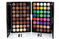 Wholesale best makeup eyeshadow palette resale online - popfeel Colors Makeup Eye Shadow Matte Nude Shimmer Pigment Eyeshadow Palette Beautiful Best Cosmetic Product
