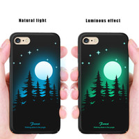 ingrosso phone case-Custodia rigida luminosa per iPhone 4 6 pollici a 4.7 pollici per IphoneX 6 7 8 Plus 5 pollici per iPhone 6plus 7 8 X