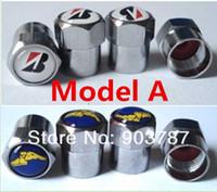 Wholesale valve model - 100sets MIX 190logos mini valve caps car wheel tyre tire valve caps wholesale model A MODEL B