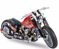 Wholesale Speed Builds - Speed motorcycle Toy building blocks decool 3354 Exploiture Model gift boy racing 378pcs set Technology Compatible technic