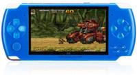 consola de juegos 4.3 al por mayor-X6 4.3 pulgadas Handheld Game Console Portable Game Player 8GB (azul)