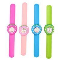 Creative Slap Kids Watch 3d Cartoon Silicen Quartz Wristwatches Tiger Sport Children Watches Cute Baby Clock Christmas Gifts Children's Watches