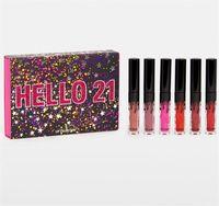 Wholesale mini lipsticks for sale - Jenner st Birthday Collection Cosmetics BIRTHDAY MINI LIP SET Velvet Liquid Lipsticks Matte Liquid Lipstick