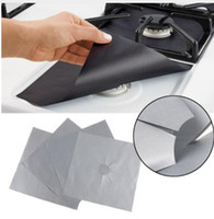 Wholesale gas stove for sale - Group buy Glass Fiber Gas Stove Protectors Reusable Gas Stove Burner Cover Liner Mat Pad Home Kitchen Tools Fit Gas Stoves Kitchen mat KKA5196
