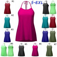 Wholesale Lace Up Vest Top - Solid Lace Up Vest Women Crop Top Sexy Back Lace-Up Tanks Summer Camis Casual Shirts Sleeveless Blusas Tees 100pcs OOA3868