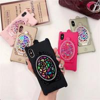 ingrosso bellissimi conchiglie-Bello e guardarsi allo specchio Specchio magico Custodia Cover per iPhone X Phone Shell per iPhone 8 7 6 5 Plus