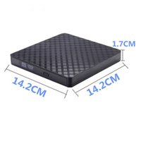 Wholesale dvd portable for pc for sale - Group buy BT669 Portable USB3 External CD DVD VCD Optical Drive CD RW Writer Recorder Driver for PC Laptop Computer