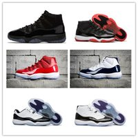 "Wholesale christmas b - 2017 Number ""45"" 23 11 Prom Night Bred Space Jam Basketball Shoes Men Women win like 82 Sport Shoes win like 96 Athletic Trainers With Box"
