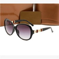 Wholesale package logos - In 2018, fashion luxury brand logo sunglasses are antique, designer for men and women customized, with original packaging.