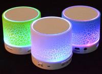 geführtes kleinpaket großhandel-Drahtloser Lautsprecher Bluetooth Minisprecher A9 führten farbigen grellen Lautsprecher FM Radio TF Karte USB mit Kleinpaket