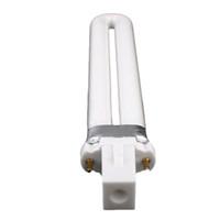 ingrosso lampadine a sostituzione della lampada uv-Ricambio 4X 9W Nail Art UV Machine Bianco Lampada Lampadina Tubo Gel essiccatore di ricambio - 4Pcs
