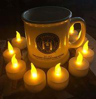 fernbedienung elektronische kerzen großhandel-Fernbedienung führte elektronisches Kerzenlicht / gelbes geführtes Teelicht / romantisches elektronisches Kerzenlicht der Fernbedienung