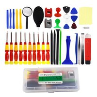 Wholesale wholesale tools - 38 in Multifunctional Repair Tools Kit Precision Screwdriver Repairing Kit Set For Mobile Phone PC Tablet Computers