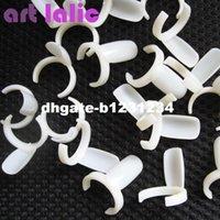 farbe pops ring groihandel-50 Stücke Acryl Vollnagelspitzen Polnischen UV Gel Farbe Pops Display Nail art Ring Stil Nagelspitzen