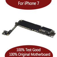 For iPhone 7 32GB 128GB Motherboard without Touch ID ,Original Unlocked Logic board Free Shipping
