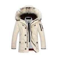uzun hırka ceketi toptan satış-Vêtements dökün hommes doudoune erkek tasarımcı kışlık mont aşağı ceket uzun kollu hırka kış lüks ceket
