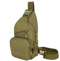 mochilas de moda al por mayor-Hombres de la manera Durable de Nylon honda Backpack Mochila Shoulder Messenger Bag Riding Travel Assualt Male Cross Body Bags Pecho Pack