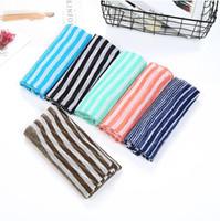 Wholesale soft scarves for sale for sale - 2018 stripe scarf shawl hot sale viscose Striped Shawl Scarf Super Soft Scarves Lightweight Scarves For Women Men Boys Girls