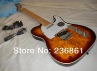 çin gitar dükkanı toptan satış-Ücretsiz kargo çin enstrüman Özel mağazalar fen jim kök 6 dize Telecaster elektrik Gitar