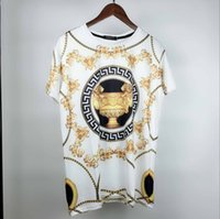 Wholesale printing copy - AA Copy printing Europe and the United States the world's high-quality printing is very perfect head There Medusa label Men's T-Shirts
