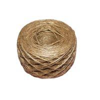 100m--2ply Jute Twine Sisal String Soft Natural Brown Burlap Hessian Rustic Cord