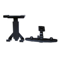 Wholesale Tablet Car Mount Back Seat Headrest Mount Holder For Apple IPad Tablet MP5 PSP GPS Devices Multi Purpose Hooks Home Storage