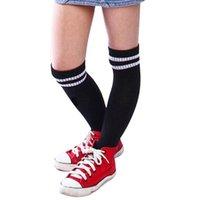 diz çorapları beyzbol üzerinde toptan satış-Çocuk Spor Futbol Futbol Uzun Çorap Erkekler ve Kızlar Beyzbol Hokey Çorap Çocuk Çorap Açık AKK'nın Diz Yüksek Sock Üzeri