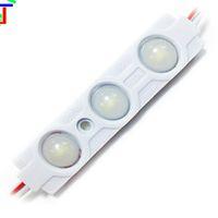 hohe module großhandel-100pcs / lot geben Modul-Linse der Verschiffen-5730 Qualitäts-Einspritzungs-LED 160 Grad DC12V frei, das Licht annonciert