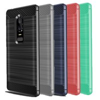 Wholesale oneplus phone online - For Oneplus Case Ultra Thin Carbon Fiber Phone Case Soft TPU Back Cover For Oneplus