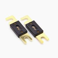 tasche goldene platte großhandel-Gute Qualität Freies Verschiffen 20pcs / bag Golden Plated ANL Fuse