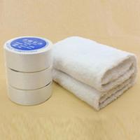 use una toalla comprimida al por mayor-10 unids Uso de viaje esencial Toallas comprimidas Ahorro de espacio Hoteles de algodón Viaje de camping Práctico Fácil de llevar toalla portátil
