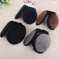 Wholesale woman winter ear cover - Enlarge Super Soft Earmuffs Man And Women Winter Popular Practical Ear Cover Outdoor Plush Keep Warm Supplies 1 1sy WW
