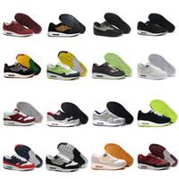 zapatos hombre s deporte atletismo al por mayor-Cojín de aire de la manera 2018 thea 87 90 Zapatos casuales para las zapatillas de deporte al aire libre de las mujeres de los hombres sirve los zapatos atléticos ligeros talla eur 36-45