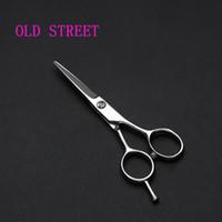 ingrosso trimmer di bocce-Acciaio inossidabile Barba sopracciglio Trimmer Scissor per Barbiere Barba taglio Bang Taglio Mini Size Uso domestico baffi strumento di rasatura