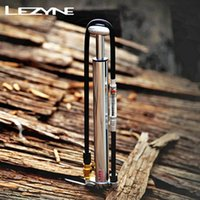 Wholesale LEZYNE thundering air cylinder landing bicycle mountain road car mini portable pump pressure psi psi FV AV