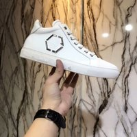 Wholesale black male models fashion - Fashion Men Shoes Men Casual Shoes Luxury brand Genuine leather male shoe High quality Brand Men shoe selling style model With Box 38-44 03