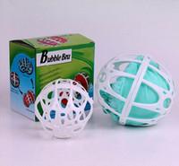 ingrosso lavaggio eco lavaggio palla-Plastic Women Bubble Bra Bag Ball Laundry Laundry Lingerie Magic Washing Saver Protector Keeping Clothes Strumenti di pulizia