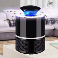 Wholesale electronic mosquito zappers resale online - Electronic Mosquito Killer Light USB Photocatalyst Mosquito Lamp Electronic Insect Killer Bug Zapper Mosquito Repellent UV Night Light