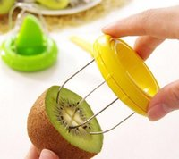 Wholesale kiwi peeler for sale - Group buy with Retail Package Mini Fruit Kiwi Cutter Peeler Slicer Kitchen Gadgets Tools For Pitaya Fruit Tools