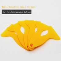 Wholesale Car Sticker Yellow Vinyl Wrap Film Tool PP Plastic Wrapping Tools Plastic PP Squeegee for Wallpaper wall paper