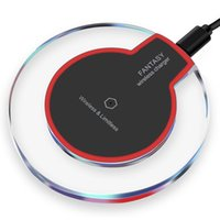 iphone sendungen großhandel-Kabelloses Ladegerät für iPhone X 8 8Plus Mini Ultra-Slim-Schnellladestation für das Galaxy S8 Plus mit Kleinpaket