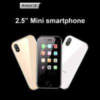 gsm сотовые телефоны двухъядерные оптовых-Оригинал Anica I8 Мини GSM WCDMA Android Смартфон сотовый телефон 2.5