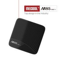 up tv box achat en gros de-Mecool M8S PRO L Smart TV Box Android 7.1 Amlogic S912 3 Go 32 Go 5 G Wifi BT4.1 Set-up avec télécommande vocale