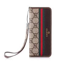wallet case al por mayor-2018 nueva marca de lujo de la caja del teléfono de la moda de la cartera caso para el iphone XS caso XR XS Max 6 7 8 8plus X envío gratis