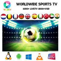 android caixa usb venda por atacado-VIGO IPTV árabe, turco, Escandinávia, Reino Unido, Brasil Portugal canais 4000+ viver 2500+ filme vod EPG na Smart tv android tv box