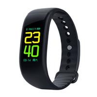 wristband do esporte do silicone dos homens venda por atacado-Bluetooth Smartwatch Esporte Relógio Inteligente IP67 À Prova D 'Água Monitor de Freqüência Cardíaca Pulseira Saúde Sono Pulseira Esporte Relógios Para Homens
